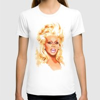 rupaul T-shirts featuring RuPaul - Supermodel - Pop Art by William Cuccio aka WCSmack