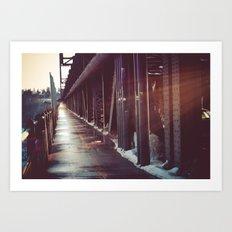 Highlevel Bridge Art Print