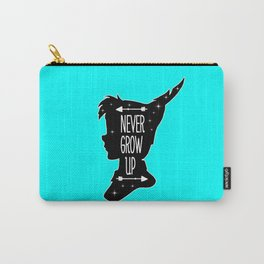 Peter Pan Quote - Never Grow Up Carry-All Pouch