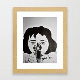 Karen Hill (Goodfellas, 1990) Framed Art Print