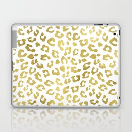 Glam Gold Cheetah Animal Print Laptop & iPad Skin