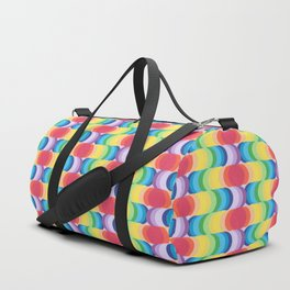 Rainbow Dragon Scales 2 Duffle Bag