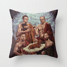 GOG vs GB2 Throw Pillow