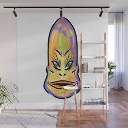Alien Instagram Model Wall Mural