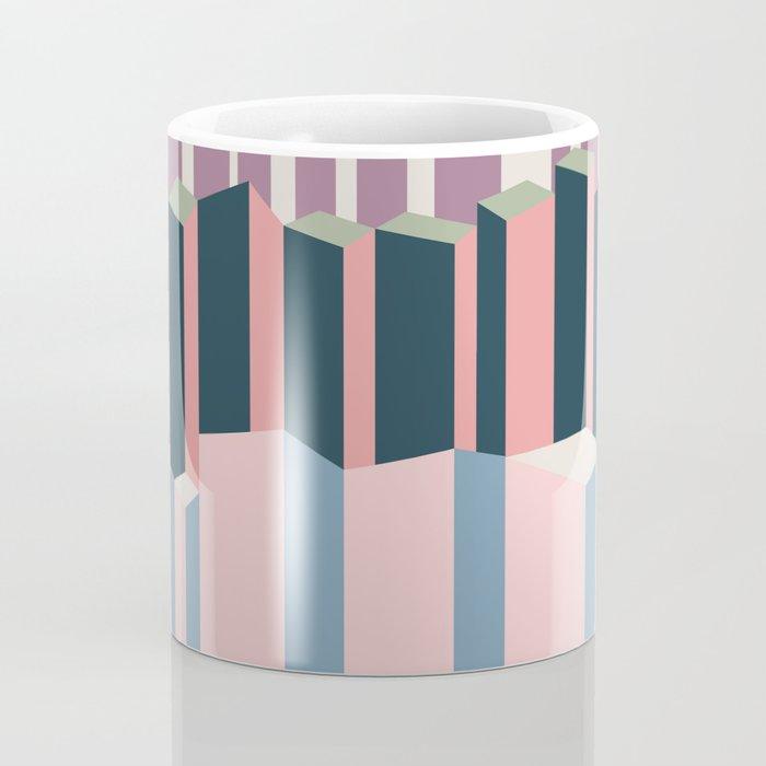Straight Geometry City 1 Coffee Mug