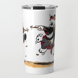 Calvin and Hobbes Magic Spells Inspired Parody Travel Mug