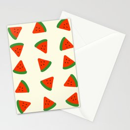 Summer Watermelons Stationery Cards