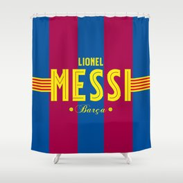 Lionel of Barça Shower Curtain