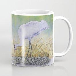 Whooping Crane, A New Dawn Coffee Mug