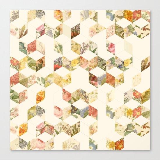 Keziah - Flowers Canvas Print