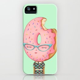 Glazed and Confused with Sprinkles iPhone Case