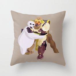 Healthcare robots Throw Pillow