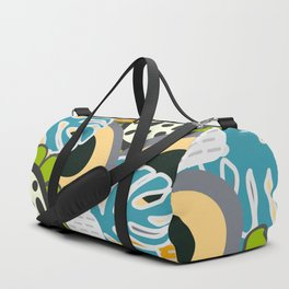 Fresh floral bunch Duffle Bag