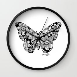 Buttrfly Wall Clock