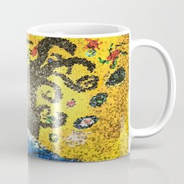 Tree of Life canvas acrylic turned mosiac Coffee Mug