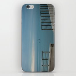 Winter sea iPhone Skin