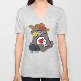 Hobo Bear Unisex V-Neck