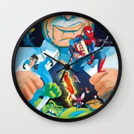 The Marvelous Mr. Lee Wall Clock