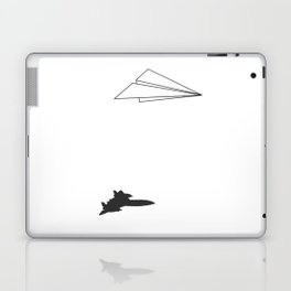 Paper Airplane Dreams Laptop & iPad Skin
