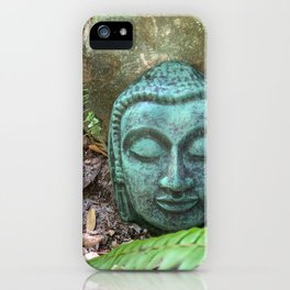 Earth Buddha by Mandy Ramsey, Haines, Alaska iPhone Case