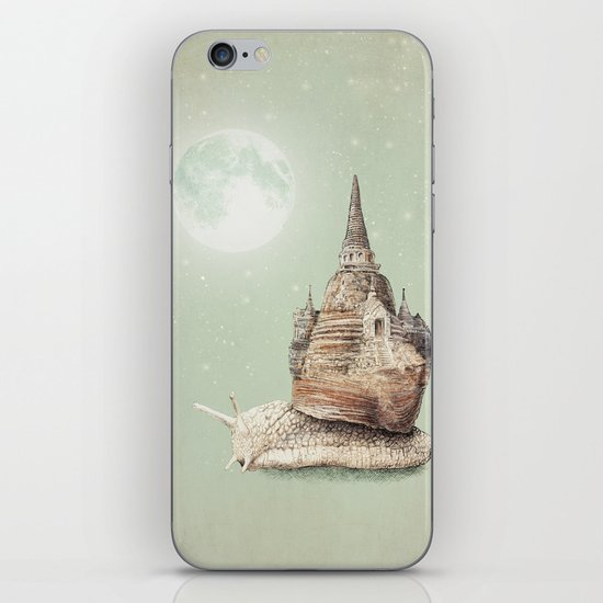 The Snail's Dream iPhone & iPod Skin