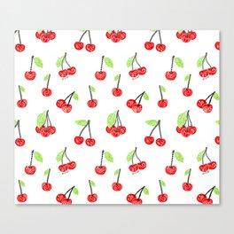 Cherries series Canvas Print