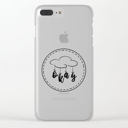 The Fault in our Stars: Okay! Clear iPhone Case