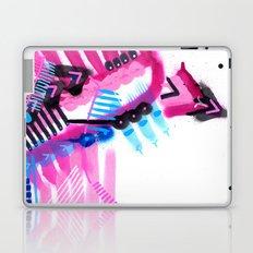 Blue, Pink and Black Laptop & iPad Skin