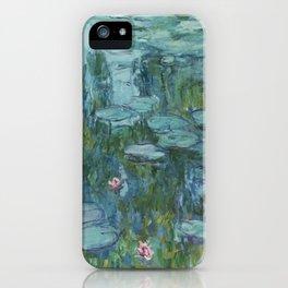 Nymphéas, Claude Monet iPhone Case