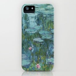 Nymphéas, Claude Monet iPhone Case