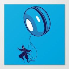 ninja yo-yo Canvas Print