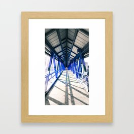 Shadow and Steel Framed Art Print