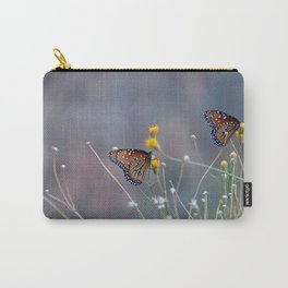 Two Monarch Butterflies Carry-All Pouch