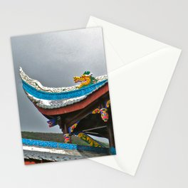 Temple Rooftop Stationery Cards