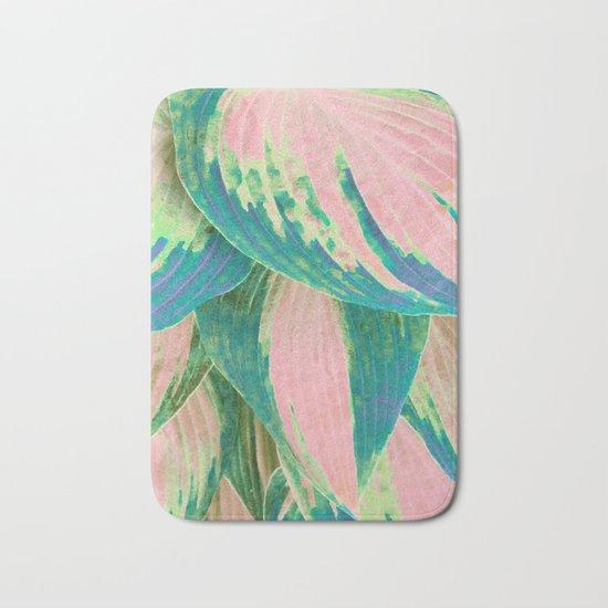 Hosta Multicolor Bath Mat