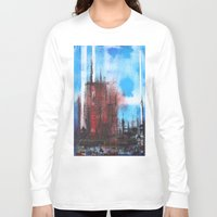 cityscape Long Sleeve T-shirts featuring Cityscape by Alfred Raggatt