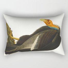 California Vulture Illustration Rectangular Pillow