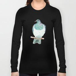 Kereru / Woodpigeon - a native New Zealand bird 2014 Long Sleeve T-shirt
