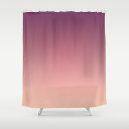 Purple cream Ombre . Shower Curtain