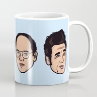 seinfeld Mugs featuring Seinfeld by Michael Walchalk