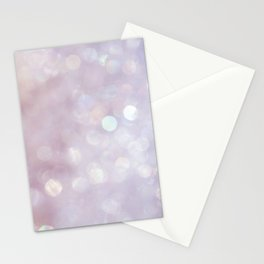 Bokeh Series - English Lavender Stationery Cards