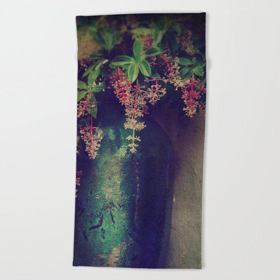 Wanton Blossoms Beach Towel