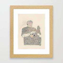 ol d friends Framed Art Print
