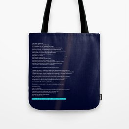 pale blue dot Tote Bag