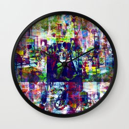 Safer after noon delicacies with in closure haven. Wall Clock