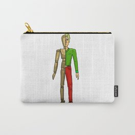 Half man color Carry-All Pouch