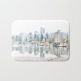 Vancouver Skyline Bath Mat