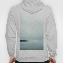 Blurred blue lines Hoody