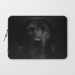 I met a girl (Black and white version) Laptop Sleeve