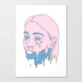 Girlscream. Canvas Print